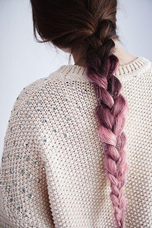 Purple Ombre #braid