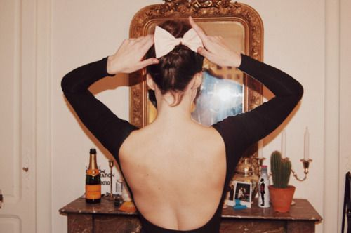 put a bow on it #hair