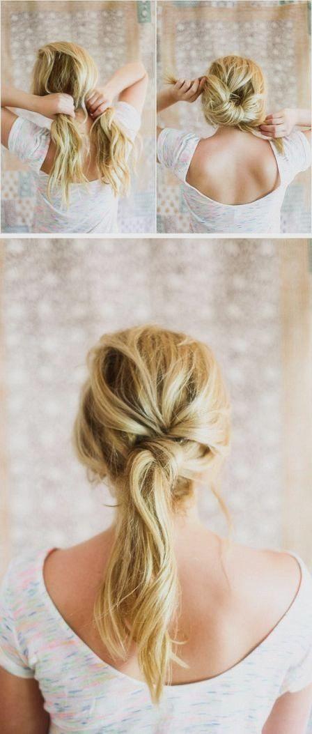 the pony twist // #hair