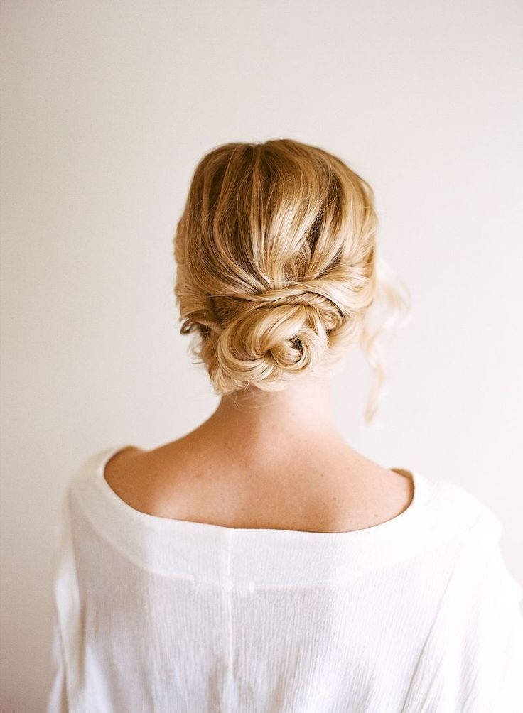 This bun is perfection // #updo #bun #hair