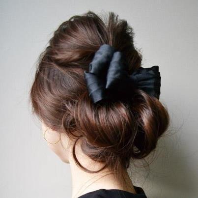 updo + bun #hair