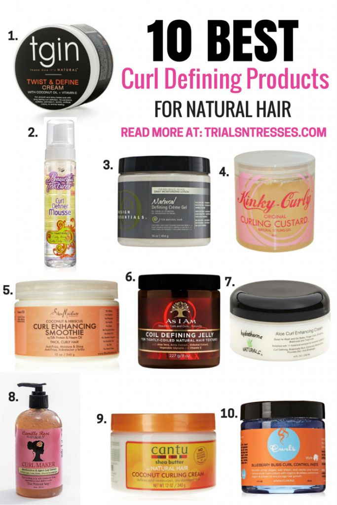 10 Best curl defining products for natural hair  #naturalhair