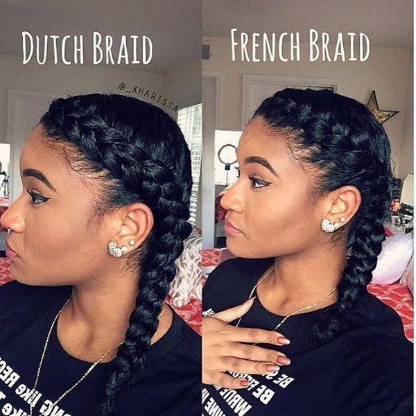 dutch braid french braid easy go-to summer hairstyle