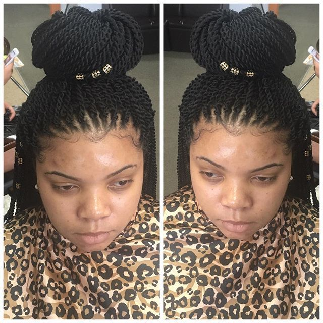 Small crochet twist #_teamnatural #janetcollection #beautydepot #crochettwists #...