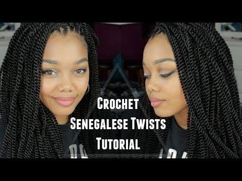 Naturel Hair Care Tutorial Crochet Senegalese Twists E28886 Outre X