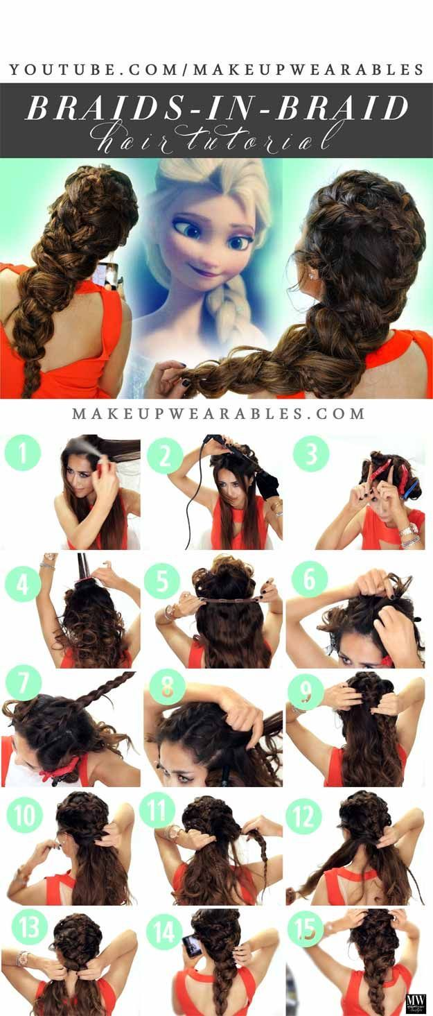 Best Hairstyles For Teens - Jaw-Dropping Big Braid- Easy And Cute Haircuts And H...