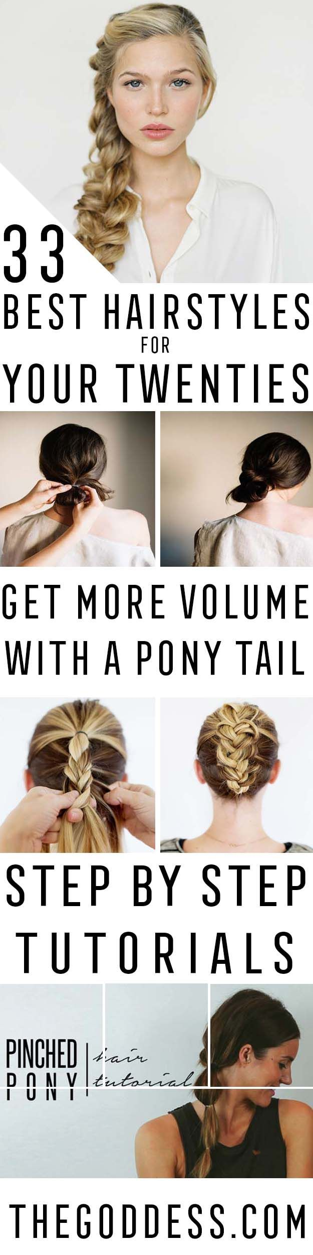 Best Hairstyles For Your 20s - Hair Dos And Don'ts For Your 20s, With The Best...