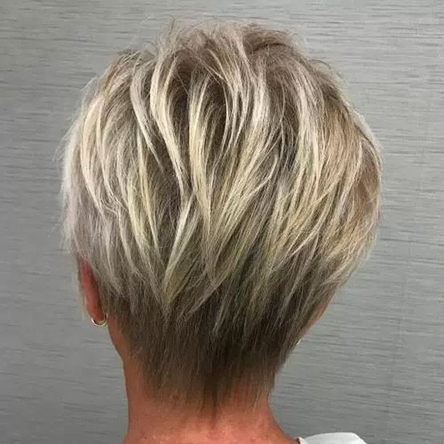 Best Hairstyles For Your 50s - Blonde Pixie - Best Haircuts For Women In Their 5...
