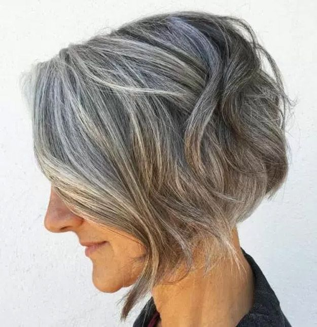 Best Hairstyles For Your 50s - Modern Sculpted Bob - Best Haircuts For Women In ...