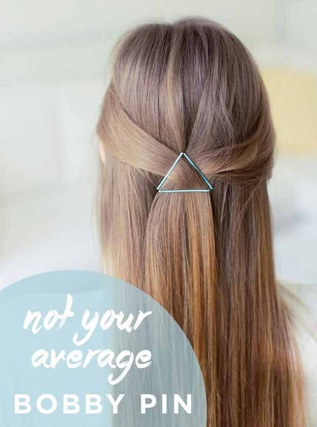 Best Pinterest Hair Tutorials - Not Your Average Bobby Pin - Check Out These Sup...