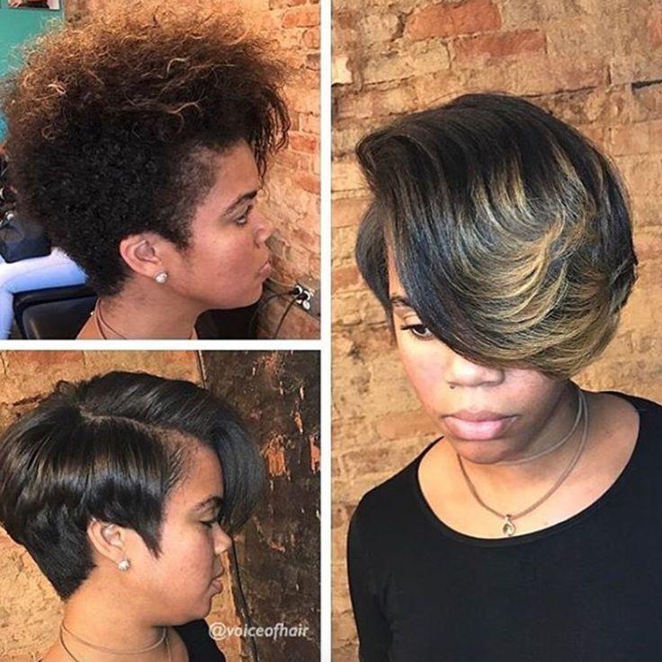 Beautiful @ashleighp_hairstyles - blackhairinformat...