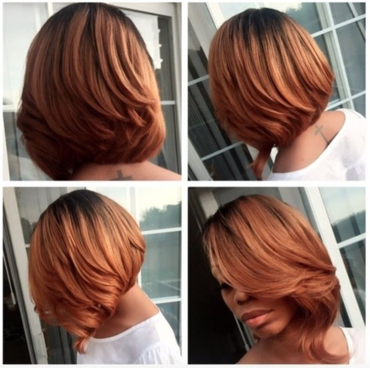 Beautiful bob @millyraihair  Read the article here - blackhairinformat...