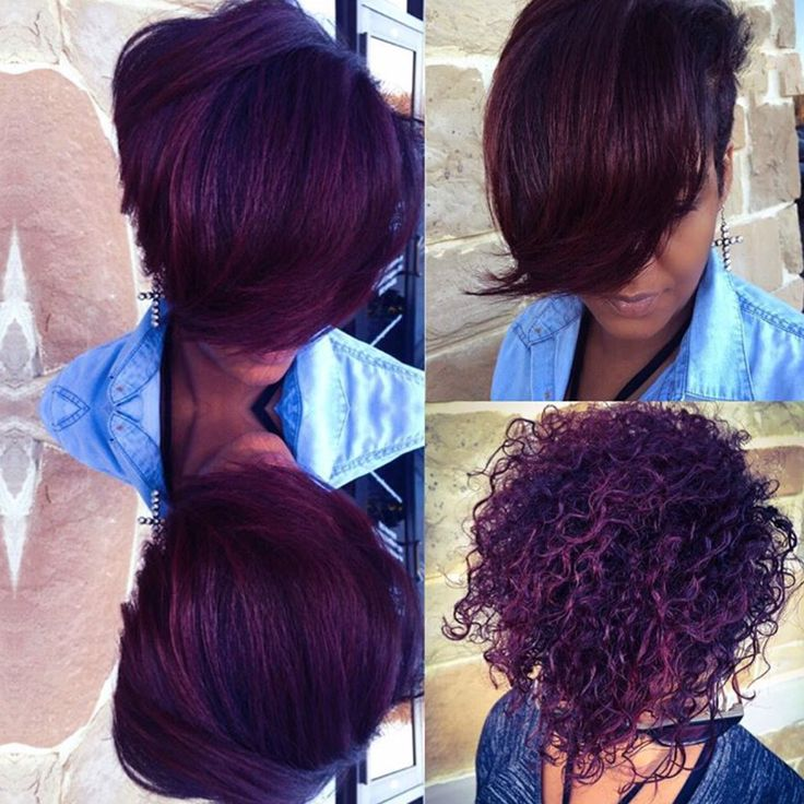 Beautiful color by @khimandi  Read the article here - blackhairinformat...