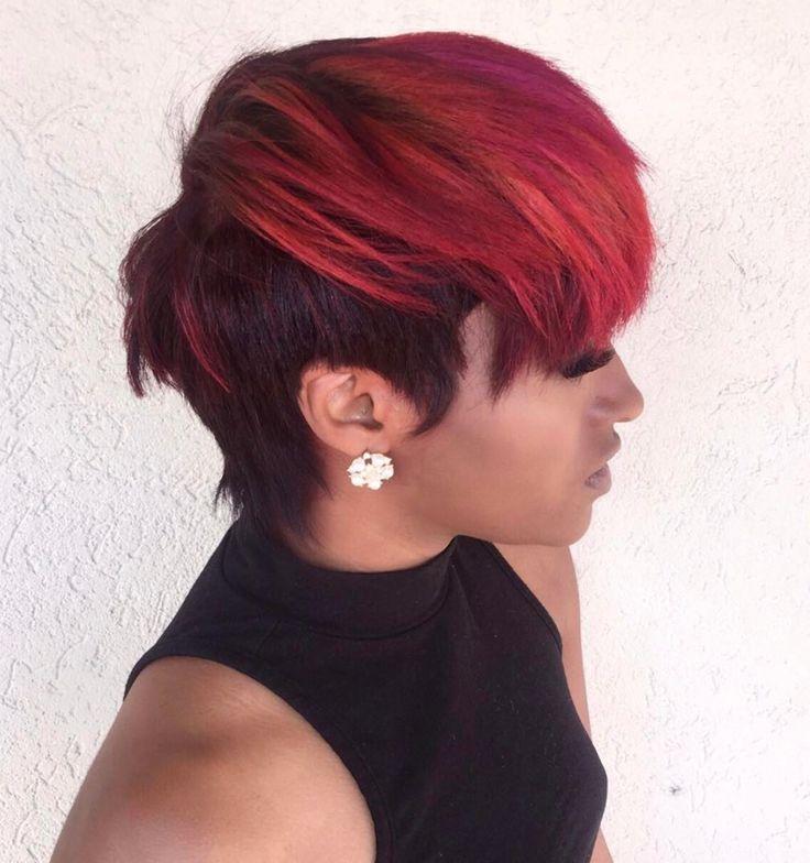 Beautiful color via Kisha Jefferson - blackhairinformat...