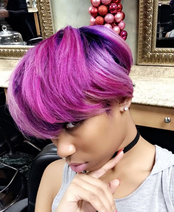Beautiful color via @salonchristol  Read the article here - blackhairinformat...