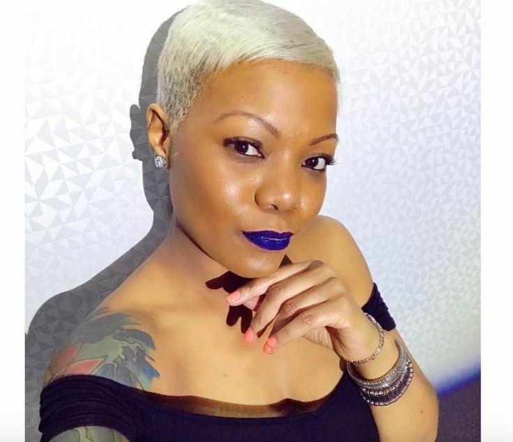 Bold blonde by Kisha Jefferson - blackhairinformat...