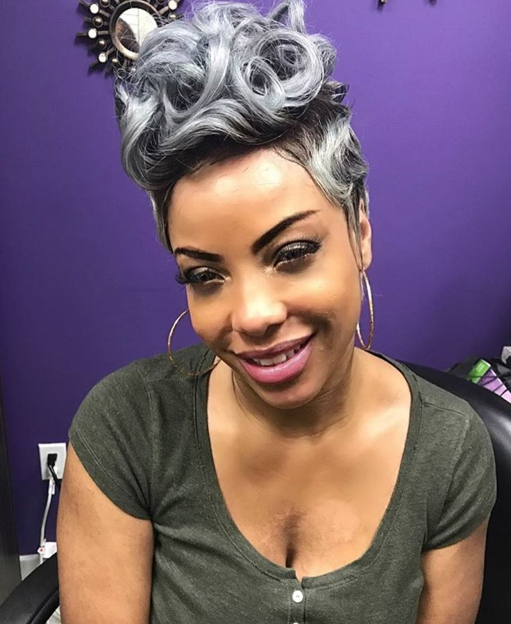 Cute style and color by @epic_looks_upscalestudio - blackhairinformat...