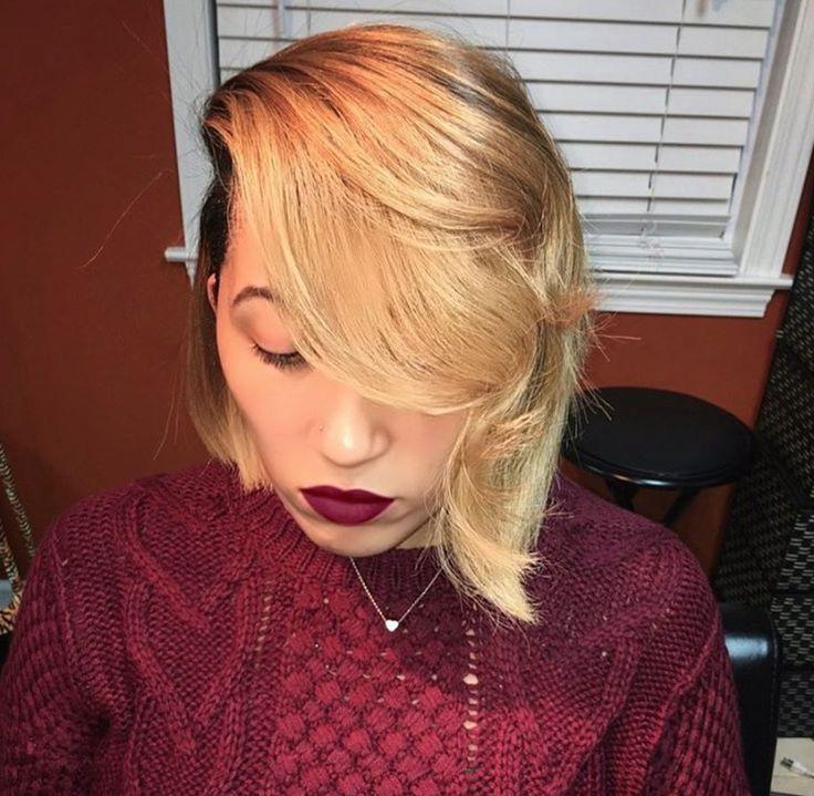 Gorgeous bob by @hairbylatise - blackhairinformat...