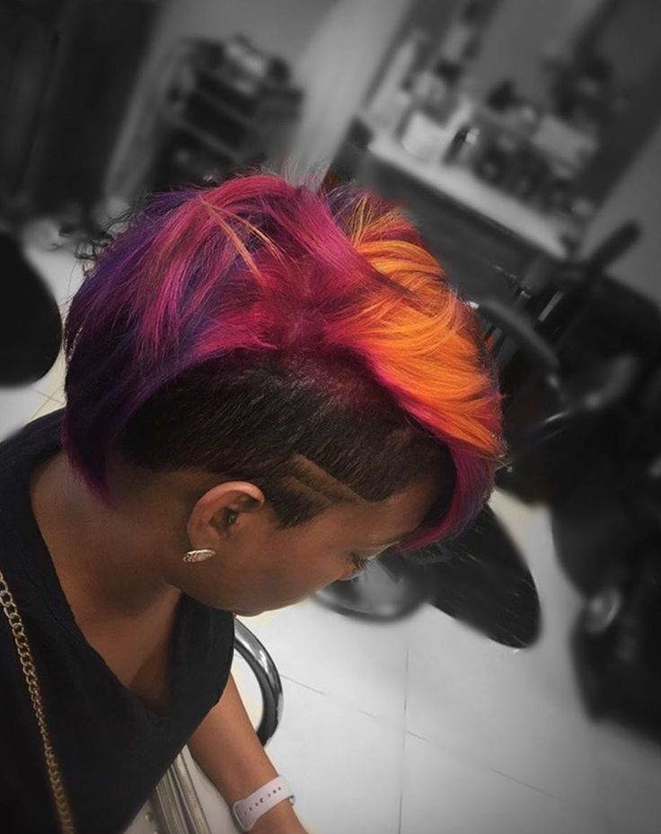 Gorgeous color by @cutz_up  Read the article here - blackhairinformat...