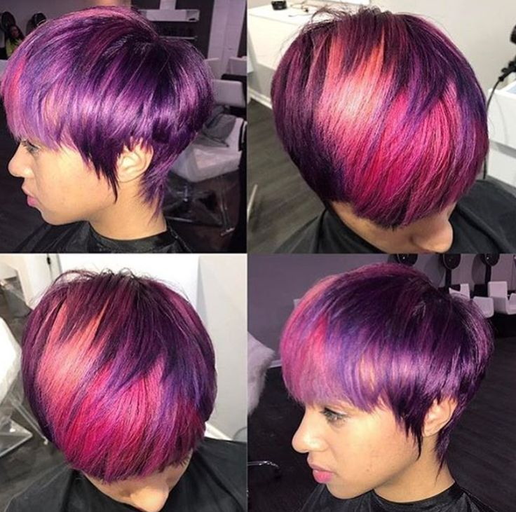 In love with this color by Ciara Desper - blackhairinformat...
