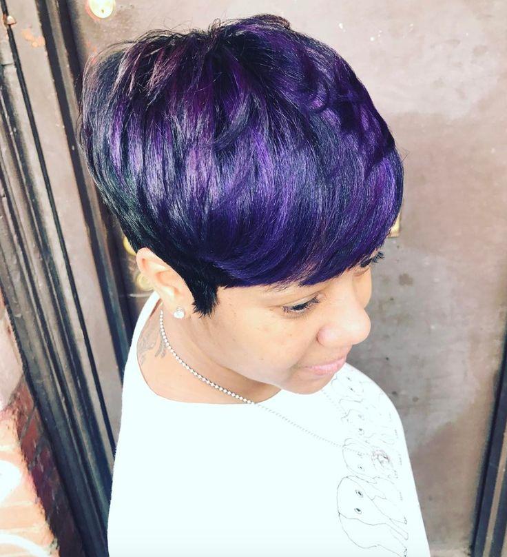 Love this purple via @artistry4gg - blackhairinformat...
