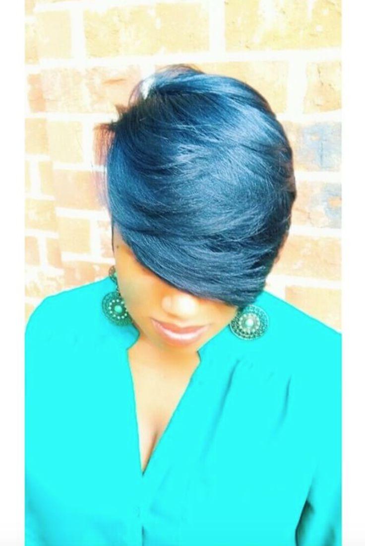 Lovely blue via @razorchicofatlanta - blackhairinformat...