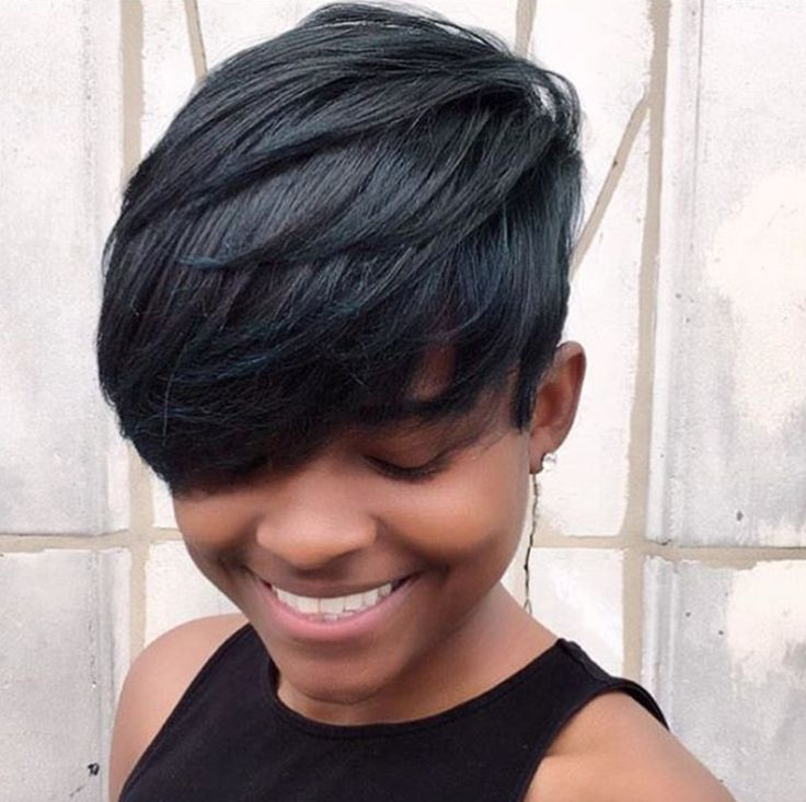 Nice pixie via @lori_theexclusivestylist  Read the article here - blackhairinfor...