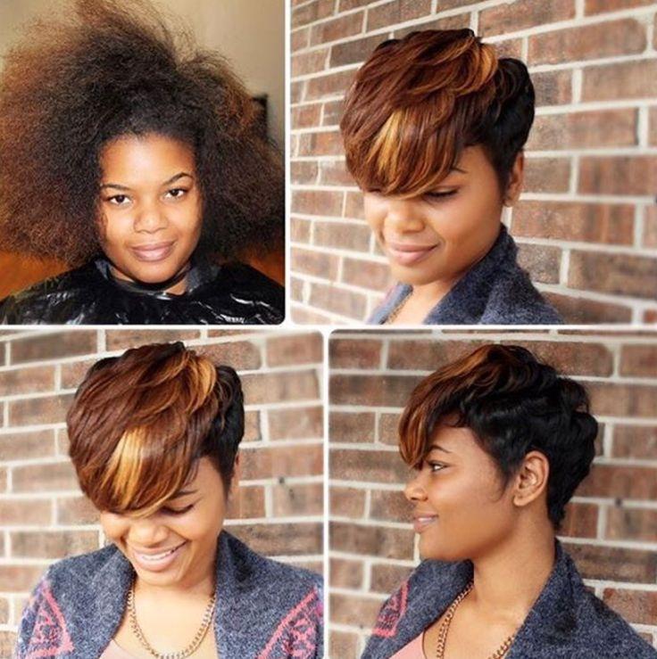 Nice transformation via @dreamchasin_hair  Read the article here - blackhairinfo...