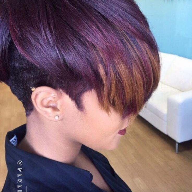 Obsessed wit this color by Pekela Riley - blackhairinformat...