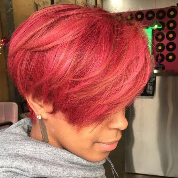 Obsessed with this color @kellzatlstylist  Read the article here - blackhairinfo...