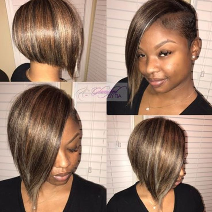 Simple cut and add in via @glamifiedbytia - blackhairinformat...
