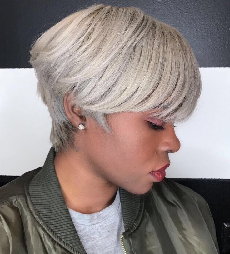 Short Haircuts Unique Color By Kisha Jefferson Read The Article Here Blackhairinformat Beauty Haircut Home Of Hairstyle Ideas Inspiration Hair Colours Haircuts Trends