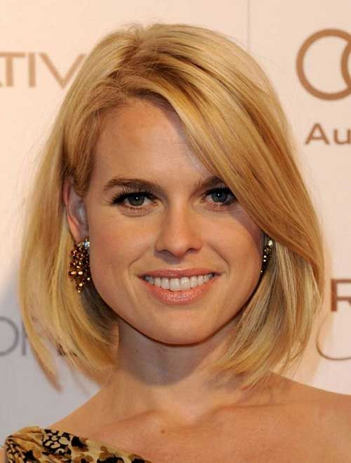 10 Long Bob Haircuts For Round Faces - 4 #Hairstyles