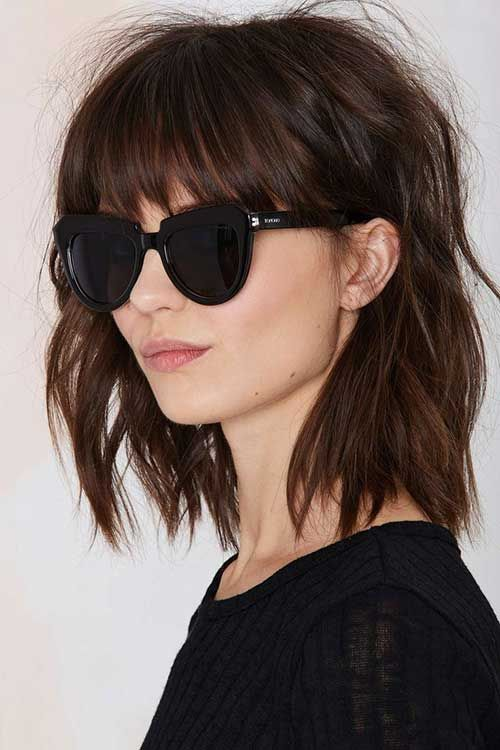 12 Brown Bobs Hairstyles - 6 #Hairstyles