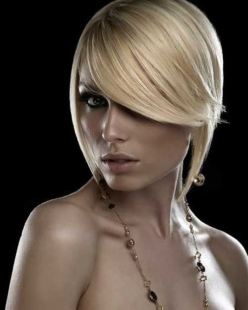 15 Best Bob Haircuts for Round Faces - 2 #Hairstyles