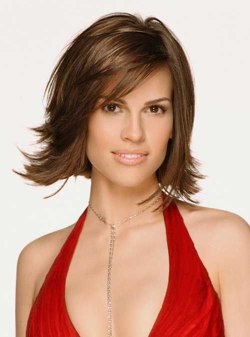 15 Good Layered Bob with Side Bangs - 12 #Hairstyles