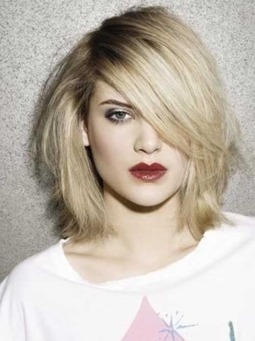 15 Good Layered Bob with Side Bangs - 2 #Hairstyles