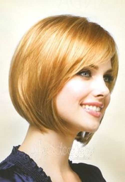 15 Good Layered Bob with Side Bangs - 6 #Hairstyles