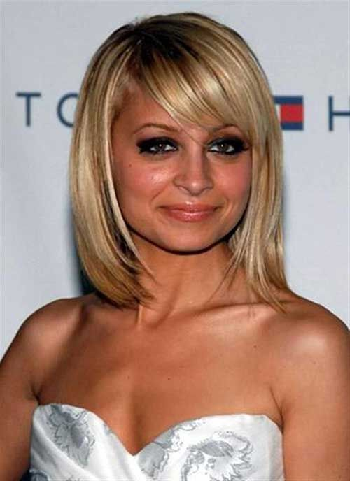 15 Good Layered Bob with Side Bangs - 8 #Hairstyles