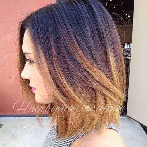 15 New Shoulder Length Bob Hairstyles - 3 #Hairstyles