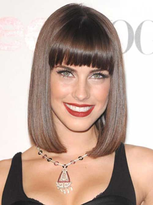 Trendy Haircuts 20 Best Brunette Bob Haircuts 9 Hairstyles