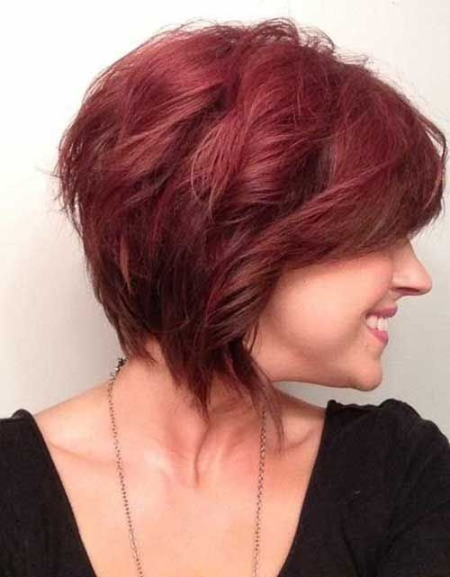 20 Red Bobs Hairstyles - 2 #Hairstyles