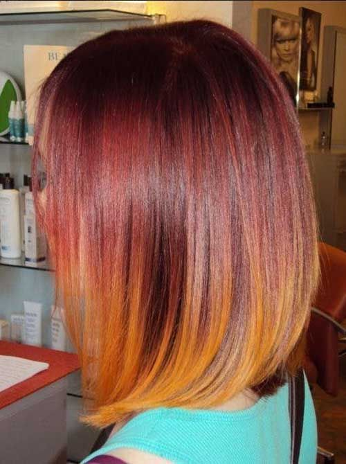 20 Red Bobs Hairstyles - 5 #Hairstyles