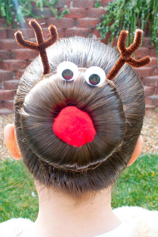 25 Wonderful Hairstyle Ideas for Christmas and Holidays - 2 #Hairstyles