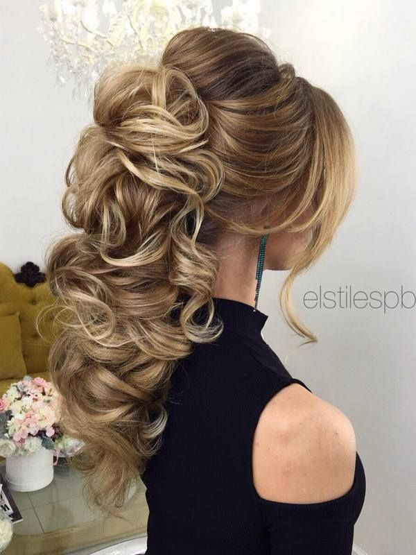 Elstile Long Wedding Hairstyles and Updos / www.deerpearlflow...