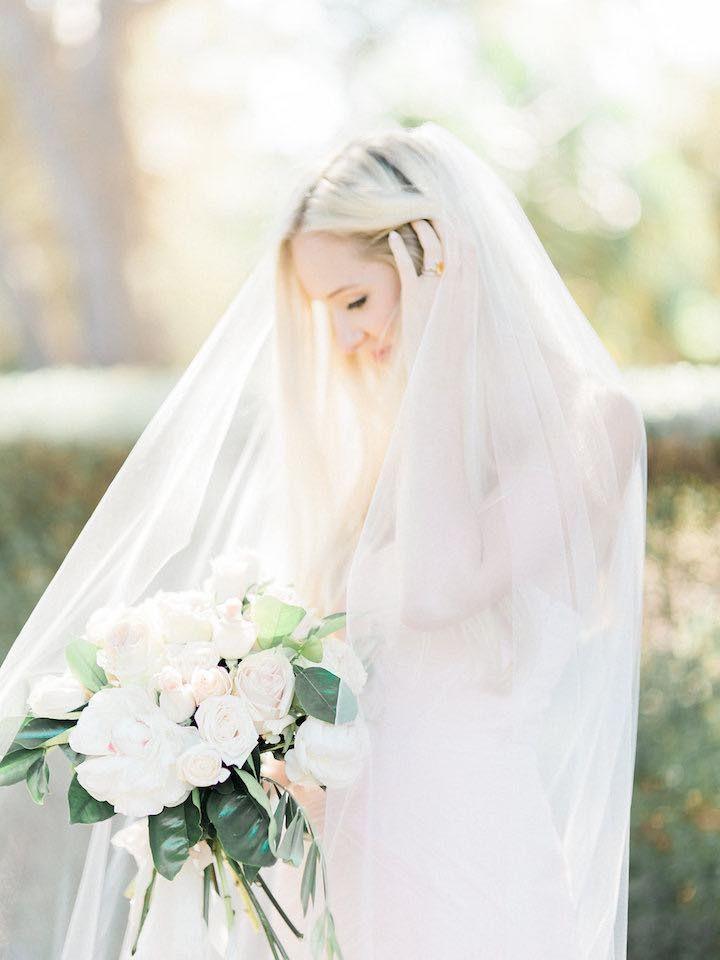 Featured Photographer: Ether & Smith; Wedding veil idea.