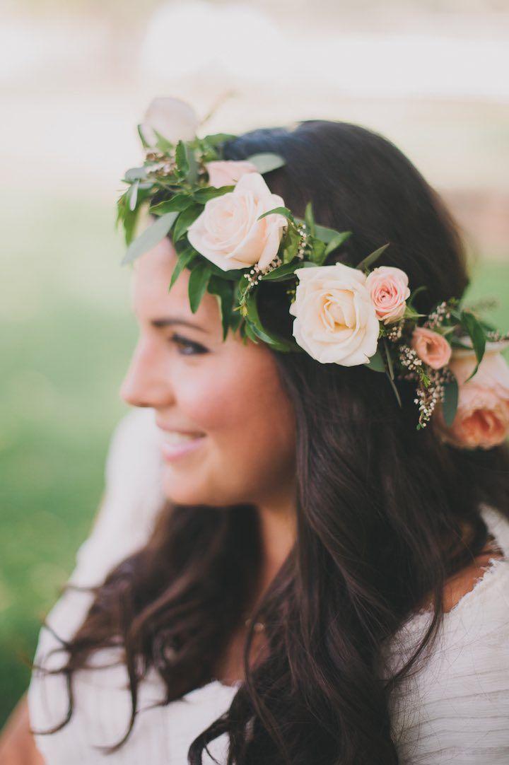 Featured Photographer: Heidi Ryder; Wedding hairstyle idea.