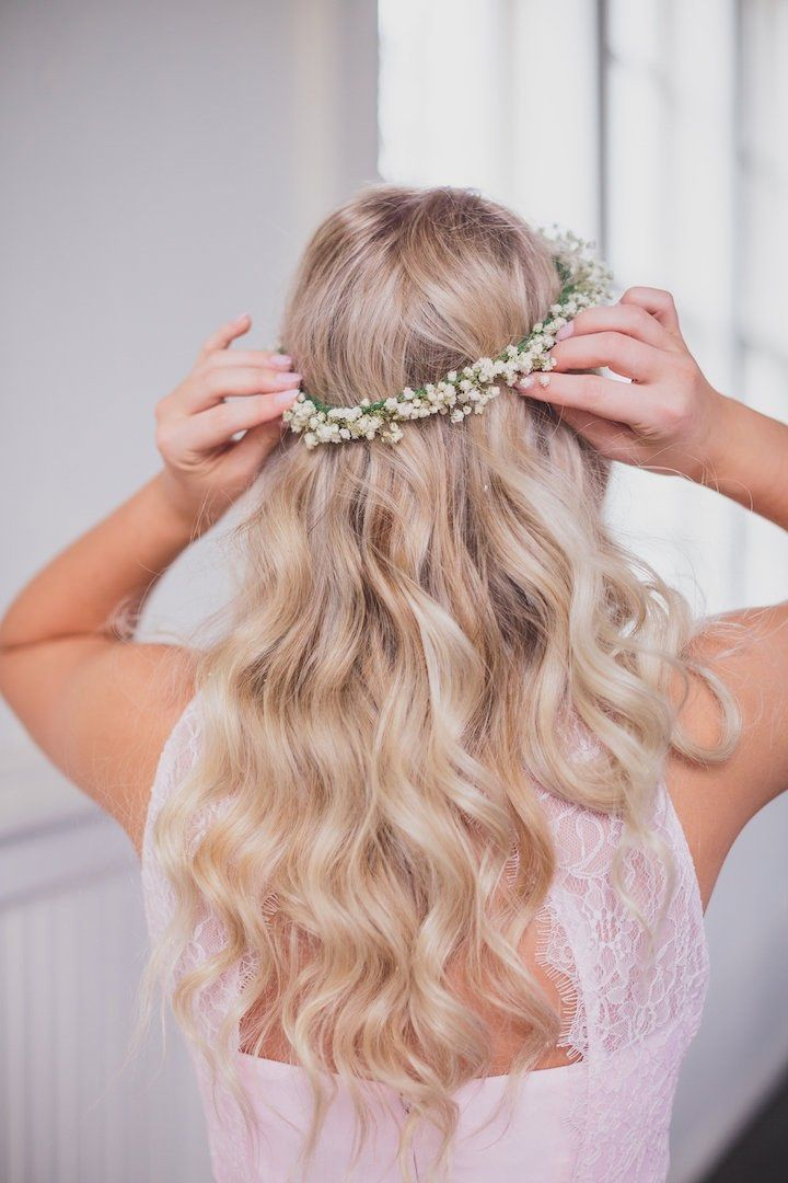 Featured photographer: Kelly Costello Photography; wedding hairstyle idea