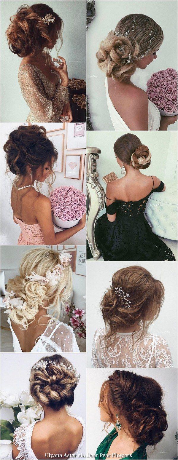 Ulyana Aster Long Wedding Hairstyles Inspiration - www.ulyanaaster.com | Deer Pe...