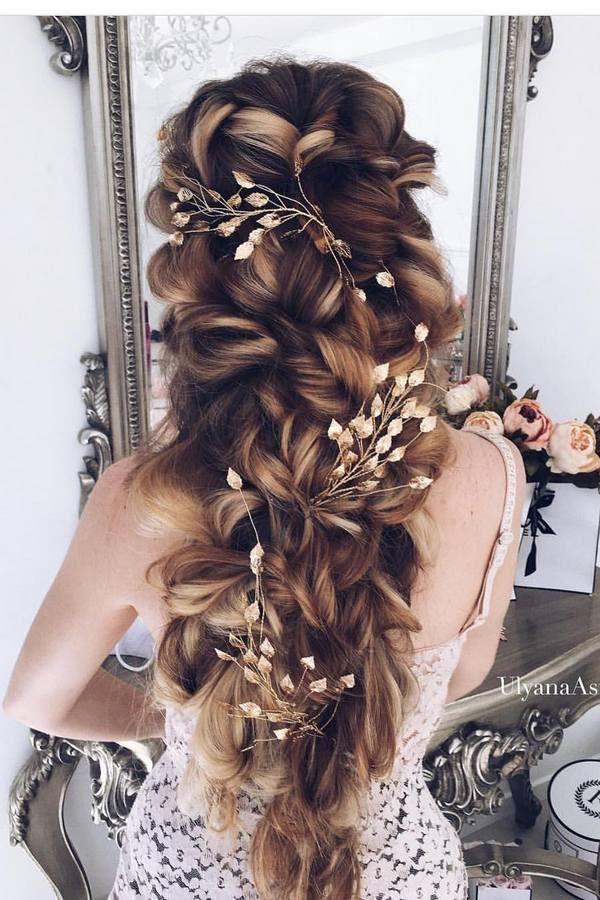 Ulyana Aster Long Wedding Hairstyles & Updos 3 | Deer Pearl Flowers